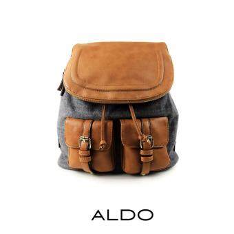 Harga AUTHENTIC ALDO FLAP DRAWSTRING BACKPACK (GREY)
