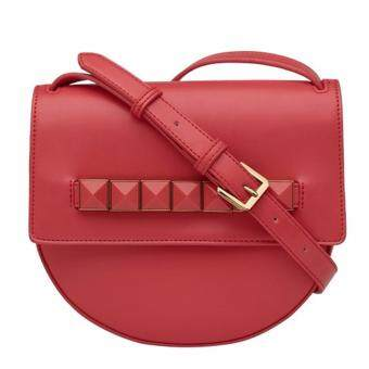 Harga Charles & Keith Studded Shoulder Bag (Red)