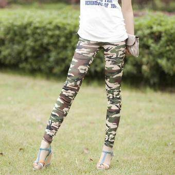 Harga Wild fashion camouflage pants leggings