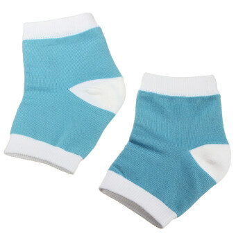 Harga 1 Pair Heel Dry Hard Cracked Skin Moisturising Open Toe Comfy Pain Relief Socks