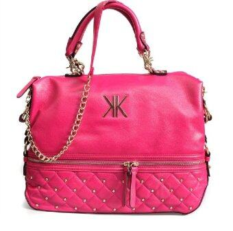 Harga Kardashian Kollection Large Stud Grip Bag