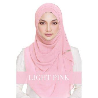 Harga [Hijab&Me] Naelofar Hijab Queen Warda - Light Pink