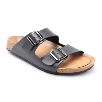 Harga COMO J1001 Men Sandal Black