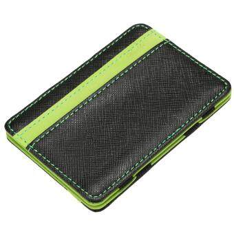 Harga Wallet Men's Money Clip (#1 Green)
