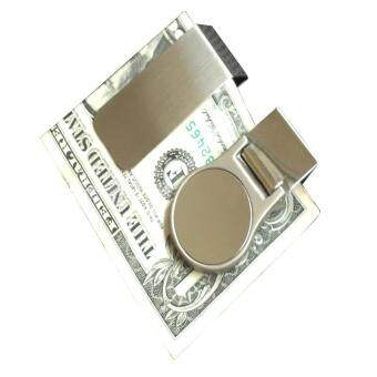 Harga Men's Wallet Slim Money Wallet Clip Credit Business Purses High Quality Money Clip