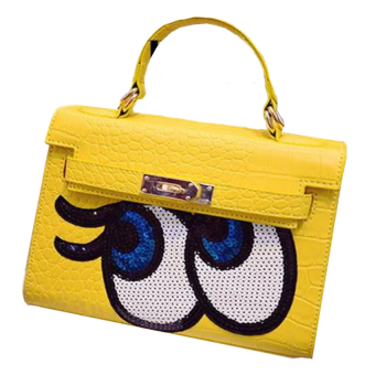 Harga Fashionable Affordable Mata Smile Handbags- Yellow