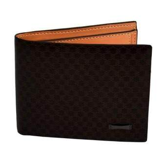 Harga MG Men Money Wallet Pockets Wallet Purse Cards ID Clutch Bifold Wallet Dark Brown