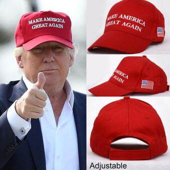 Harga 2016 Make America Great Again Hat Donald Trump Republican Adjustable Mesh Cap A'(Not Specified)(OVERSEAS)