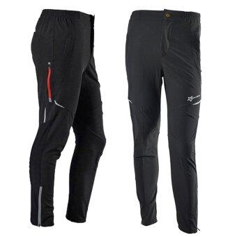 Harga Outdoor Sports Windproof Cycling Pants Multi-use Running Hiking Camping Fishing Biking Fitness Trousers for Men