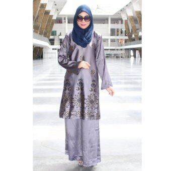 Harga PH Fashion Laural Baju Kurung(Grey)