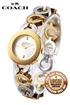 Harga Coach Kristy 14501313 Quartz Watch (Gold Silver)