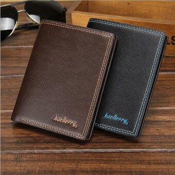Harga Baellerry Casual Money Clip Men's Wallet Color:Brown (Intl)