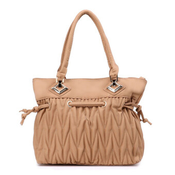 Harga Latinas Drawstring Shoulder Bag (Light Brown)