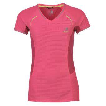 Harga Karrimor Womens Xlite T Shirt Ladies Short Sleeves Tee Top Light Weight Pink