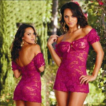 Harga MeiNiang Brand speed sell foreign trade Sexy Lingerie stretch sexy lace lace lingerie 7043