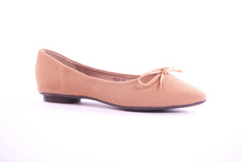 Harga COMO B003 Women Flats Brown