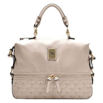 Harga Kardashian Kollection Semi Quilted Bag (Cream)