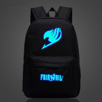 Harga The Fairy Tail guild logo Magic Noctilucent backpack schoolbag
