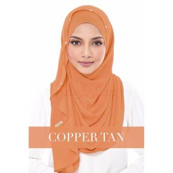 Harga Naelofar Duchess Copper Tan