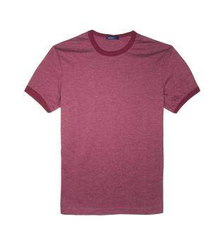 Harga F.O.S NAVY & NAVY MEN BASIC PLUM RED TEE