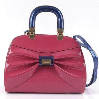 Harga Alfio Raldo Ribbon Top handle Bag Pink