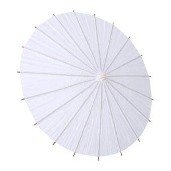 Harga Fashion White Paper Umbrella Wedding Favor Party Decoration Bridal Accessory Radius 20cm
