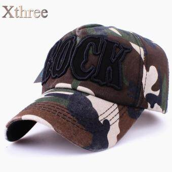 Harga xthree fashion baseball cap swag Camouflage army cap Casual cap snapback Hat for men Baseball Cap women gorra casquette