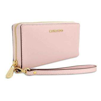 Harga Michael Kors 32S5GTVE9L-blossom jet set travel leather continental wristlet blossom