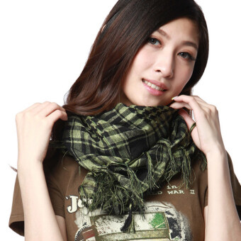 Harga Army Training Tactical Scarf Outdoor CamouFlage Hunting Shawl Military Combat Cycling Windproof Scarves