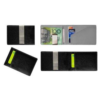 Harga Stable Slim Money Clip Wallet Type A Grey