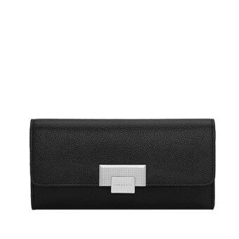 Harga Charles &Keith Womens Long Purse Multi Functional BusinessWallet CK6-10680382 Black
