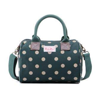 Harga Candy Flowers 4131YG Spot Dark Green Day Bag - Green