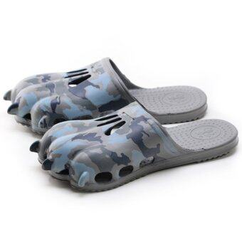 Harga LCFU764 Couple's Creative Fashion Claws slippers-camouflage