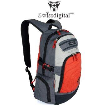 Harga [CLEARANCE SALES]Swiss Digital H151 Quality Sporty Fashion Skateboard Laptop Backpack