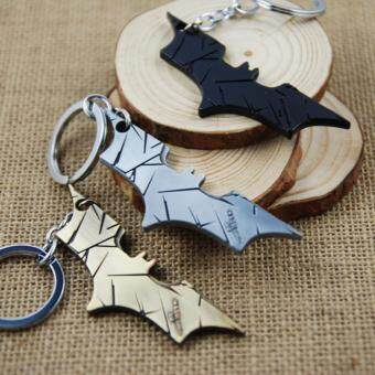 Harga 3pcs Movie Key Chain Batman Keychain Men Gift Key Chain Key Holder(OVERSEAS)