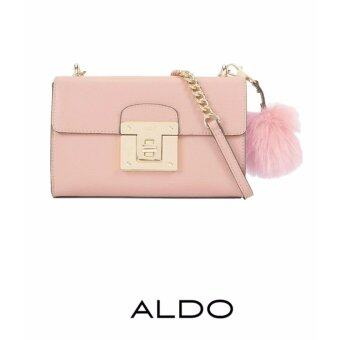 Harga AUTHENTIC ALDO CHAIN CROSS BODY BAG (PINK)