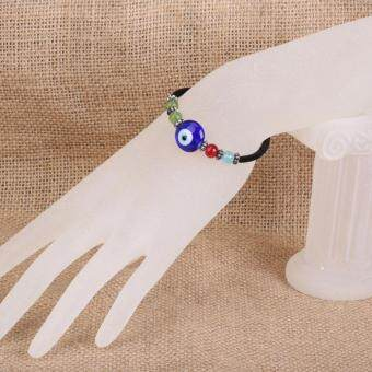 Harga Fashion Blue Jewelery Evil Eyes Lovely Eyeballs Style Bracelet