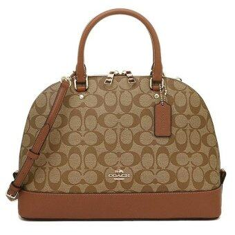Harga Coach F37233 Sierra Satchel In Signature (Brown)