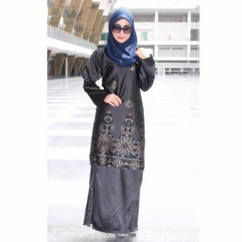 Harga PH Fashion Laural Baju Kurung(Black)