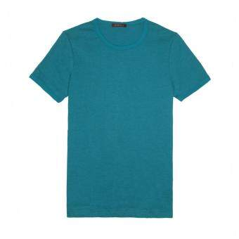 Harga F.O.S NAVY & NAVY WOMEN BASIC DEEP TEAL TEE