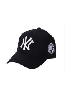 Harga 2016 New Hot NY Logo NewYork Yankees Snapback 9Fifty Baseball Cap Hip-Hop hat(Black)