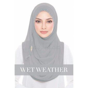 Harga Naelofar Hijab eva wet Weather
