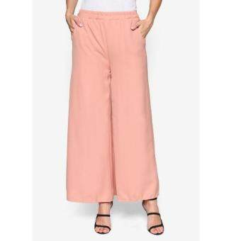 Harga Sara Fashion P009 Palazzo Pants (Peach)
