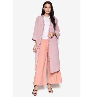 Harga Sara Fashion C005 Classic Long Cardigan (Yam)