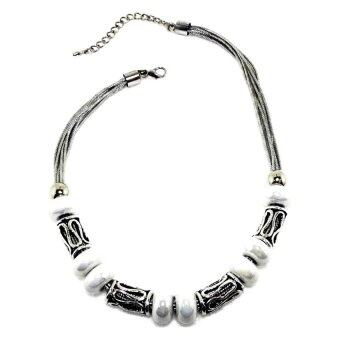 Harga KLF Procyon Necklace White/Silver