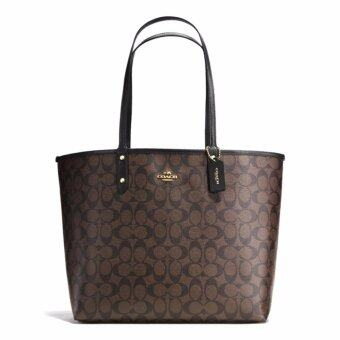 Harga Coach Reversible City Tote In Signature