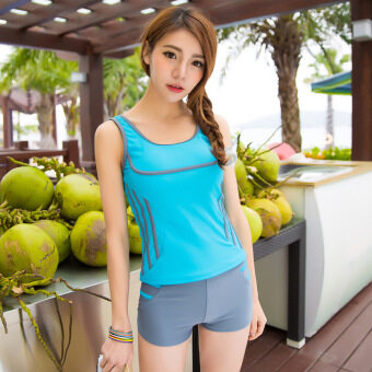 Harga Slim design fashion Women's & Students' Swim Wear & Swimming suit