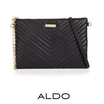 Harga AUTHENTIC ALDO QUILTED 2-WAYS BAG (BLACK)