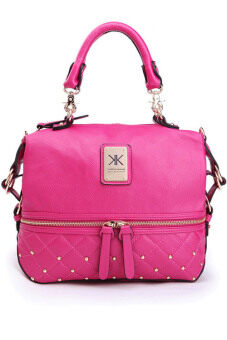 Harga Kim Kardashian Kollection Large Semi Quilted Stud Grip Shoulder Bags