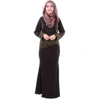 Harga PH Fashion Laila Baju Kurung (Black)
